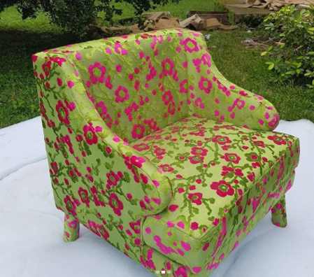 Arm Chair Flamingo