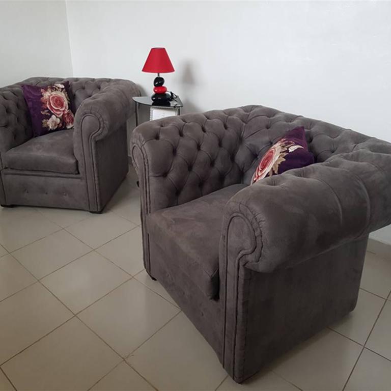 Single Chesterfield Sofa